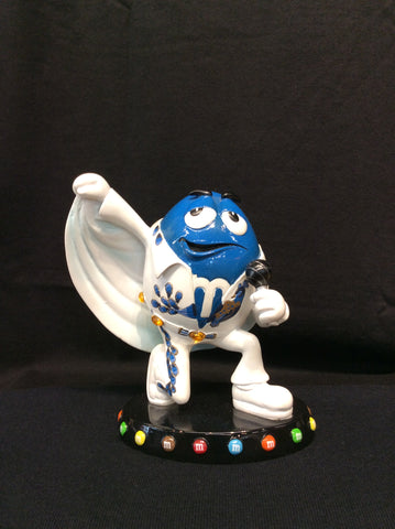Figurine Elvis Blue M&M Dressed
