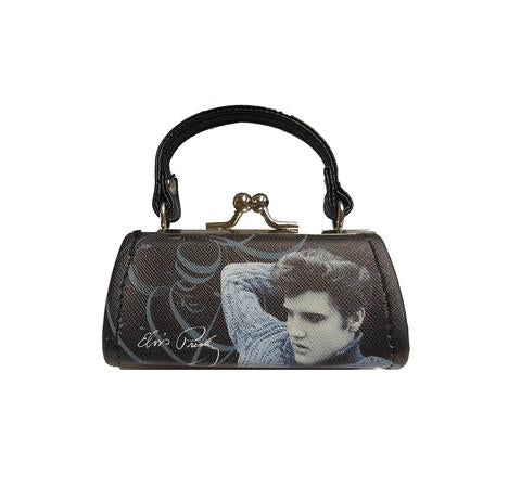 Mini Purse Elvis Blue Sweater