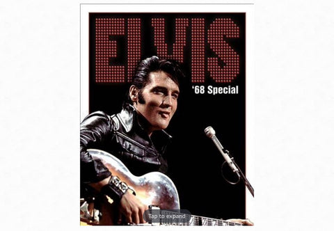 Elvis - 68 Special Metal Tin Sign
