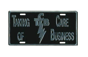 License Plate TCB