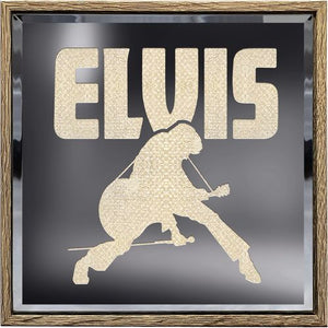 Mirror Box Elvis Silhouette