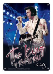 Sign Elvis Blue The King