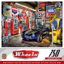 Wheels - Jewel of the Garage 750 pc Puzzle