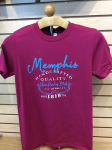 T-Shirt Ladies Memphis Hand Crafted