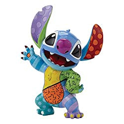 Romero Britto Disney Lilo and Stitch Posing Pop Art