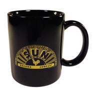 Mug Sun Records Black Half Logo