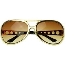 Sunglasses Gold with Smokey Brown Lens