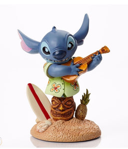 Disney Grand Jester Tropical Stitch with Surfboard Figurine