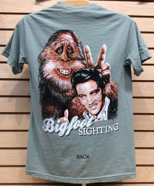 T-Shirt Elvis/ Bigfoot Sighting  AKA Darryl   NEW
