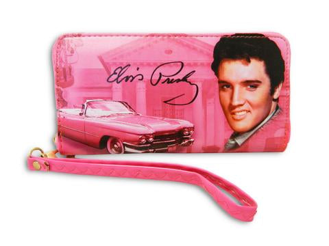 Wallet Elvis Pink Guitars