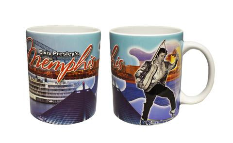 Mug Elvis/Memphis Collage