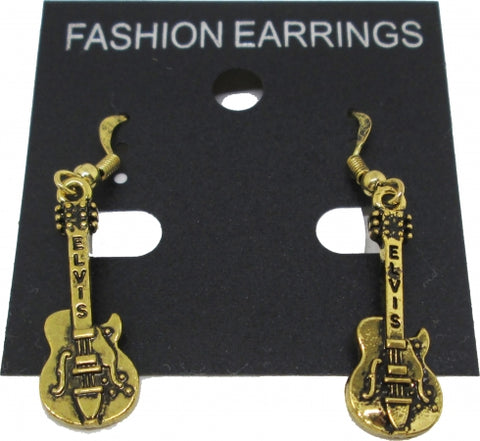 Earrings Elvis Guitar