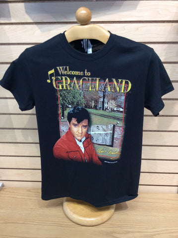 T-Shirt Elvis Welcome To Graceland