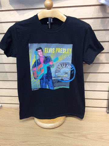 T-Shirt Sun Record and Elvis Mystery Train