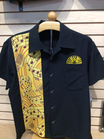 Shirt Sun Records Music Notes