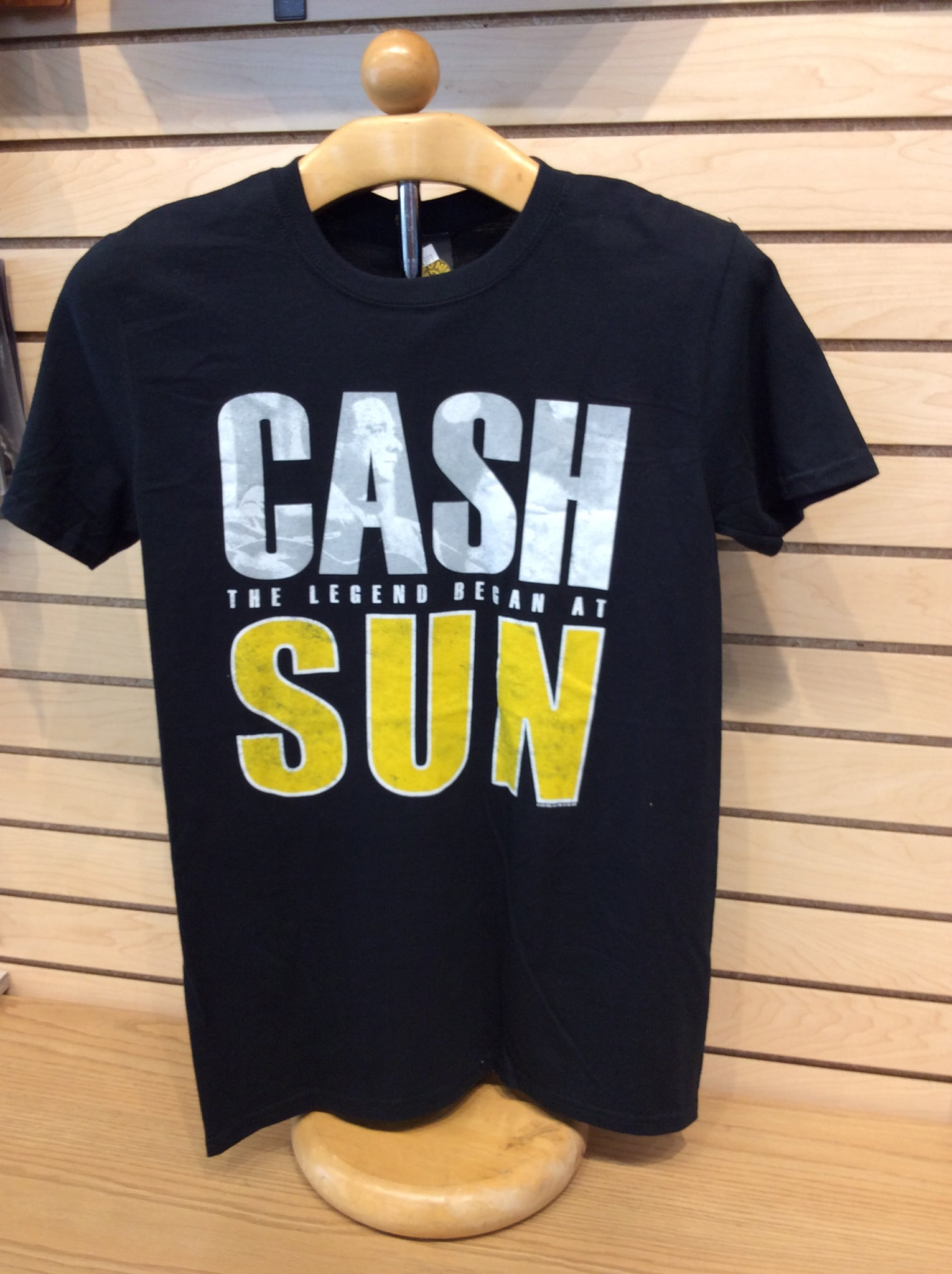 T-Shirt Sun Record Johnny Cash