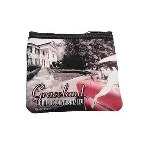 Coin Purse Elvis in Car/Graceland