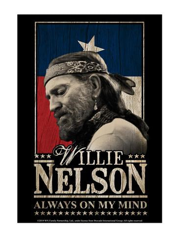 Sign Willie Nelson Americana