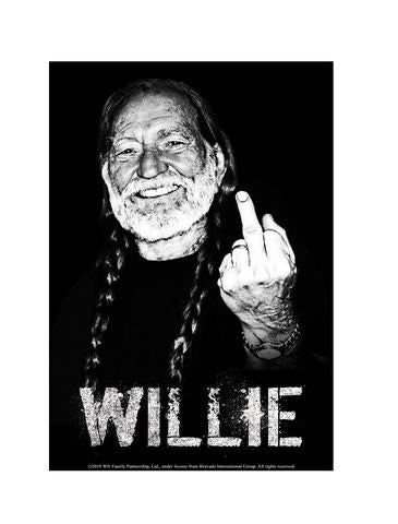 Sign Willie Nelson Finger