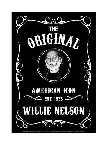 Sign Willie Nelson Established