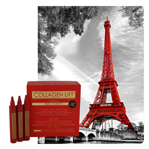 Collagen Lift Paris Red Carpet x 3 Bundle : Clinically proven absorbable collagen drink