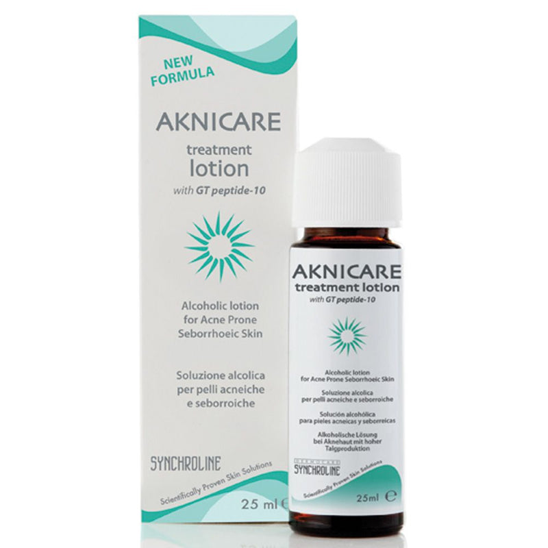 Aknicare Treatment Lotion : dermatologist-use to calm down acne (pimple) lesions fast
