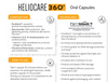 Heliocare 360º Capsule : Oral sunblock against blue light, infrared A, UVB and UVA.