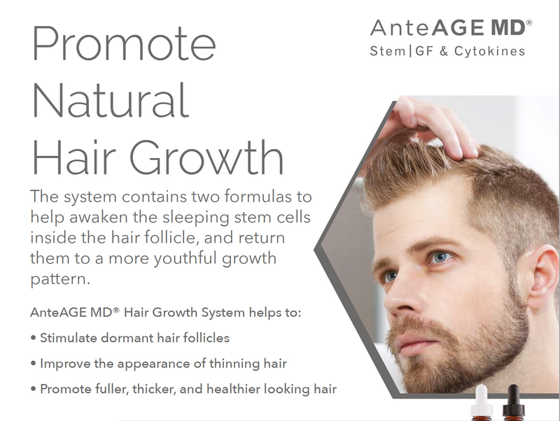 AnteAge MD Home Hair System