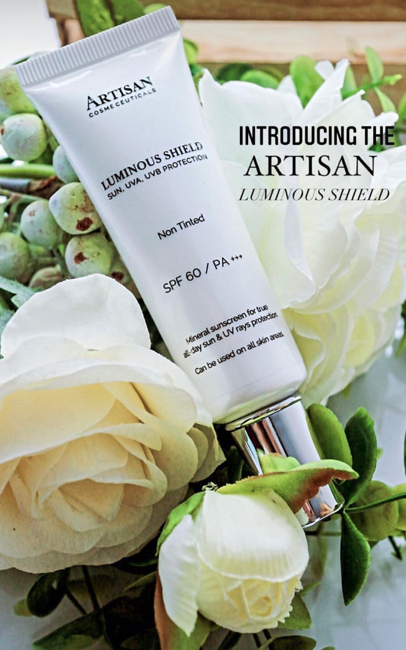 Artisan Cosmeceuticals Luminous Shield (SPF 60 Mineral Sunscreen, UVA, UVB, Blue light)