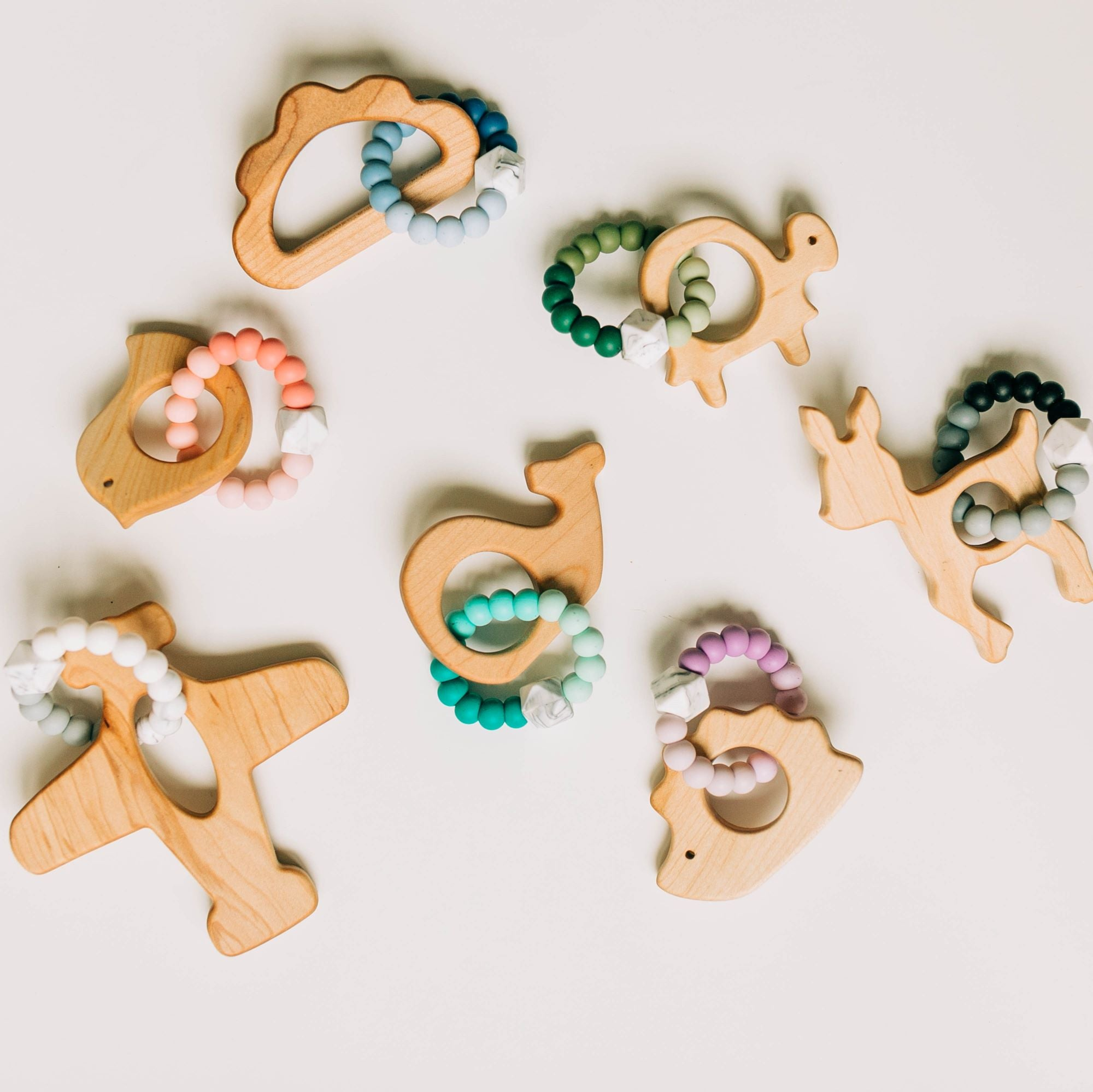 Ombré Animal Shape Teethers