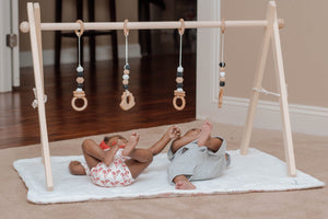 Twin sized Gym/Wooden play gym/baby gym/wooden baby gym/