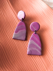 Mountain Drop - Agate - Pinks