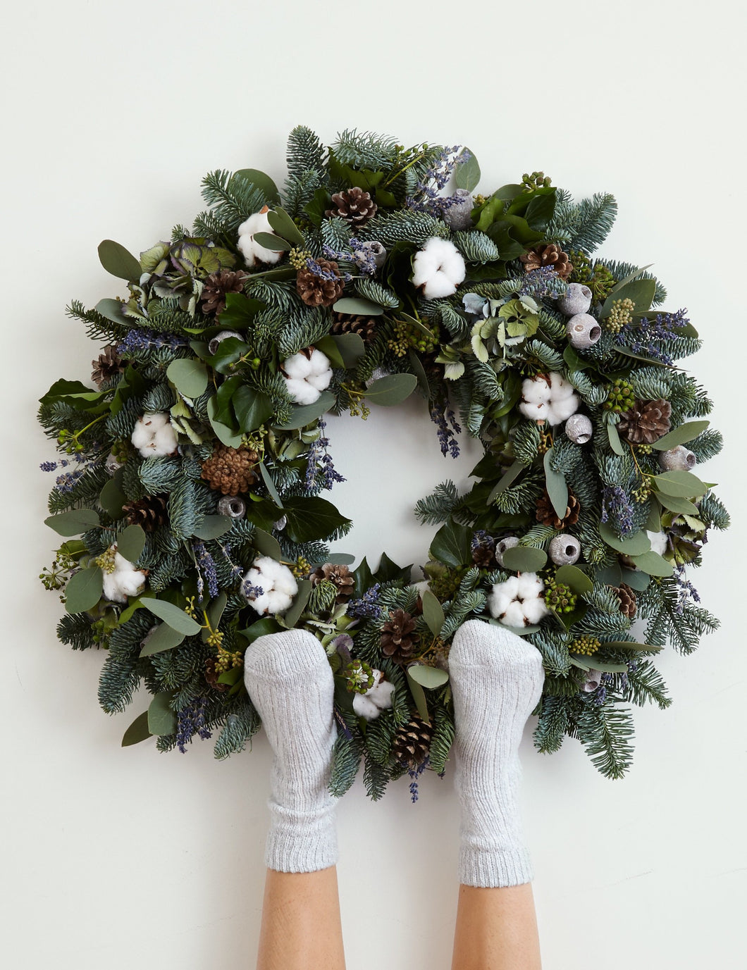 Chamonix wreath