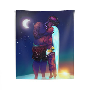 Like Night and Day Indoor Wall Tapestries