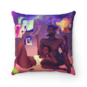 A Whole New World Polyester Pillow