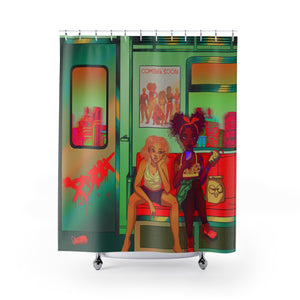 Dante&Trish Shower Curtains