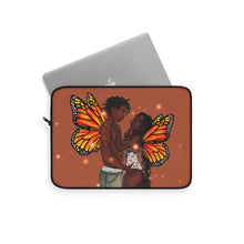 Load image into Gallery viewer, (Insert Butterfly Pun) Laptop Sleeve