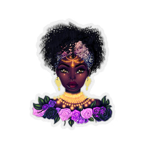 Rose Lady Sticker