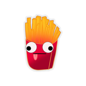 Goofy Fries Sticker