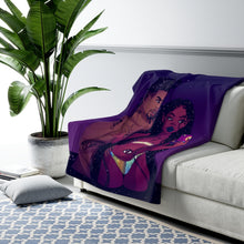 Load image into Gallery viewer, Billionaire Girl's Club Fleece Blanket