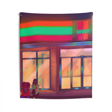 Load image into Gallery viewer, Late Night Talks Indoor Wall Tapestries