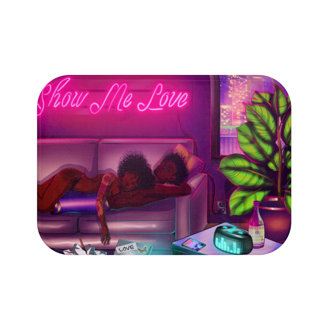Show Me Love Bath Mat