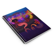 Load image into Gallery viewer, Mermaid Chat Spiral Notebook (Ruled Line)