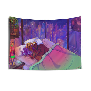 Playing Games Indoor Wall Tapestries