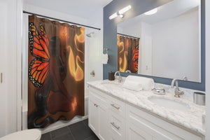 To Pimp A Butterfly Shower Curtains
