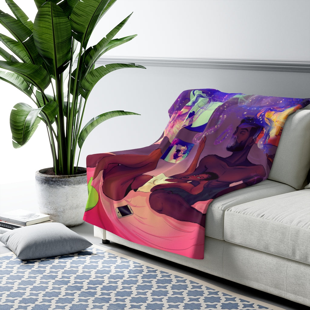 A Whole New World Fleece Blanket