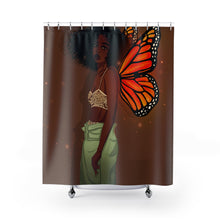 Load image into Gallery viewer, CoaCoa Flutter Kisses Shower Curtains