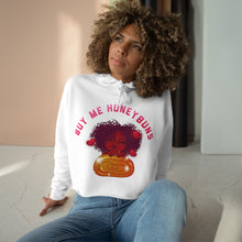 Load image into Gallery viewer, Buy Me Honey Buns Crop Hoodie