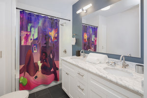 A Whole New World Shower Curtains