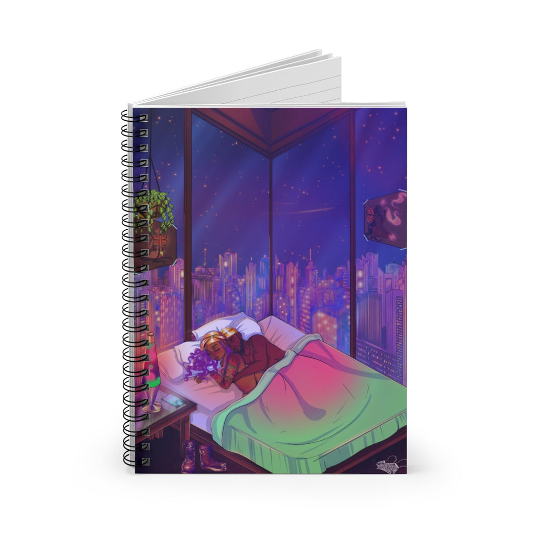 Playing Games Spiral Notebook (Ruled Line)